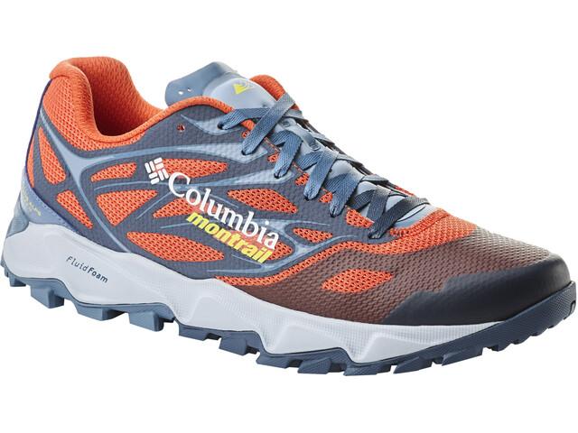 Columbia Trans Alps F.K.T. II Buty do biegania Mężczyźni pomarańczowy/niebieski